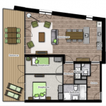 Nuova vita al salotto coi colori del grassello - Progetta la tua casa ...