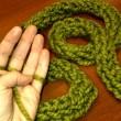 Regali di Natale originali con il finger knitting